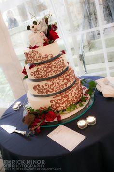 Mickey Mouse Theme Wedding Cake - Wedding Photography