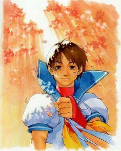 Sakura Kasugano by Edaki Shin'ya (Official Art) Street Fighter 3rd Strike, Street Fighter Alpha 2, Ryu Street Fighter, Sakura Street Fighter, Manga Anime, Street Fighter Characters, Kasugano, Sarada Uchiha, Fighting Games