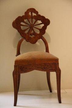 Art nouveau emile galle for Art nouveau chaise