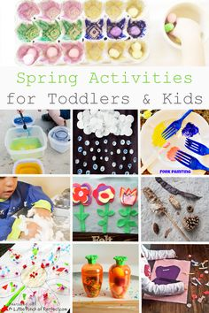 Spring Activities for Toddlers & Kids (Love to Learn Linky #40) | A Little Pinch of Perfect
