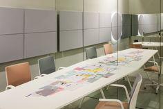 #Meety table #Kinesit chairs #salonedelmobile @isaloni #milandesignweek #Arper