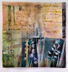 'Gladioli' by Cas Holmes