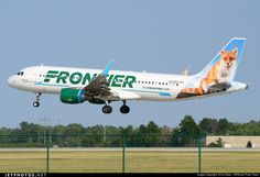 Frontier Airlines Airbus A320-200/sl