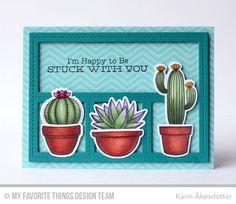 Sweet Succulents, Sweet Succulents Die-namics, Blueprints 27 Die-namics - Karin Åkesdotter  #mftstamps