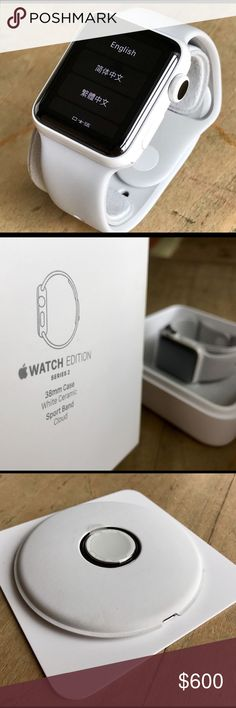 Apple Watch Series 3 Unlimited Edition Never used apple Accessories Watches