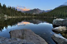 15 Places In Colorado You Thought Only Existed In Your Imagination: Bear Lake, Rocky Mountain National Park