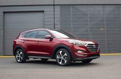 : New Tucson Could Animate Hyundai SUV Sales Auto Hyundai, Hyundai Cars, Hyundai Vehicles, Bmw X6, Mitsubishi Eclipse, Honda Crv, Tucson Hyundai, Tucson 2016, Burgundy