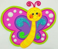 Manualidades Kids Crafts, Foam Crafts, Diy And Crafts, Paper Crafts, Art Drawings For Kids, Drawing For Kids, School Board Decoration, Sewing Projects, Projects To Try