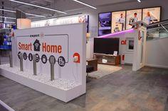 Elektronikfachmärkte am POS Smart Home, Pos, Stores, Architecture, Toy Chest, Storage Chest, Electronics, Cabinet, Design