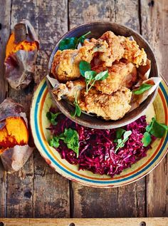 Southern Fried Chicken | Chicken Recipes | Jamie Oliver