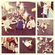 Juego heurístico en la Escuela Infantil Reggio Emilia, Montessori, Ideas, Crib, School, Games, Activities, Thoughts