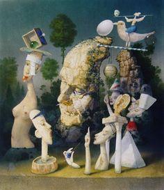 janda zdenek - Google Search Mixed Media, Illustration, Art Journaling, Painting, Google Search, Art Production, Art Diary, Painting Art, Paintings