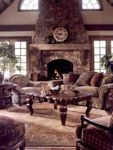 breathtaking. I ADORE fireplaces. specifically stone fireplaces