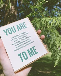 In my world, comparing someone to a tree is the best possible compliment. 🥰🌲 Forest Adventure, Letterpress Printing, Love Cards, Kraft Envelopes, Constellations, Compliments, Paper, Nature, Prints