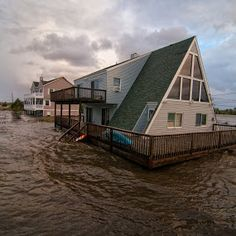 Hurricane Sandy Brick NJ | ... brick, destruction, sandy, storm, hurricane, disaster, brick town