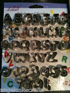 4c677af101b Alphabet   Numbers New Cutters Set Sugarcraft