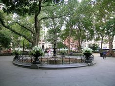 Madison Square Park - I was born 4 blocks from here, and when I got older, worked right across the street from it, for the AKC in the New York Life Building.