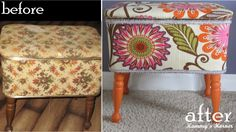 Kammy's Korner: New HGTV Fabric Line {Sewing Bench Project}