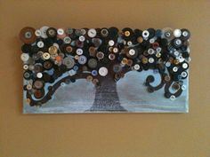 small version of my large button tree