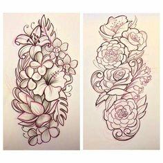 Pin by loralyn hales on art drawing эскизы татуировок, эскиз тату, татуиров Tattoo Sleeve Designs, Flower Tattoo Designs, Henna Designs, Sleeve Tattoos, Tattoo Sketches, Tattoo Drawings, Body Art Tattoos, Girl Tattoos, Tattoo Studio