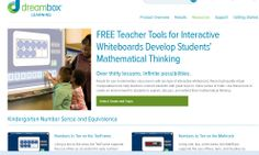 Dreambox: FREE Teacher Tools for Interactive Whiteboards Develop Students' Mathematical Thinking