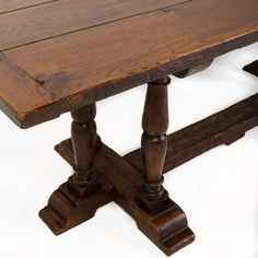 Antique Convent Table | From a unique collection of antique and modern dining room tables at https://www.1stdibs.com/furniture/tables/dining-room-tables/