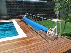 Swimming Pool Parts, Swimming Pools, Above Ground Pool, In Ground Pools, Pool Storage Box, Pool Cover Roller, Spring Spa, Pool Remodel, Backyard Patio