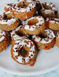 Make Blueberry-Apple Donuts for your dog with this treat recipe.