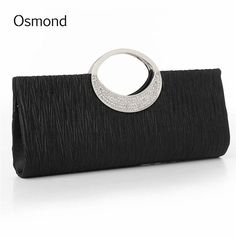 Elegant Womens Clutch Satin High Quality Purse