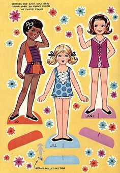 Paper Dolls~Little Girls - Bonnie Jones - Picasa 웹앨범