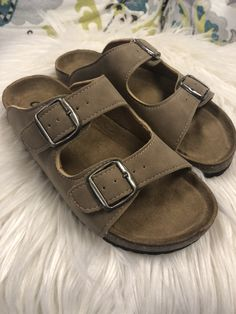 561081e704d Birkenstock Inspired Sandals- Taupe from Chocolate Shoe Boutique Shoe  Boutique