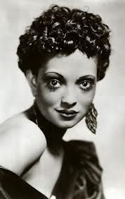 """Nina Mae McKinney: known as the black """"Greta Garbo"""" she was one of the first African American actresses in the U.S. and one of the first black actresses to appear in British television"""