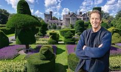 Monty Don visiting Levens Hall for his series The Secret History of the British Garden