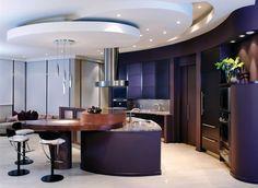 Elegant Contemporary Kitchen Interior Design - Interior Design   Exterior Design   Office Design   Home Design