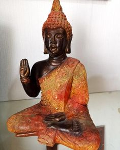 Buddha Sculpture, Ganesha, Chalk Paint, Handmade, Painting, Ceramics, Creativity, Craft, Barber Shop