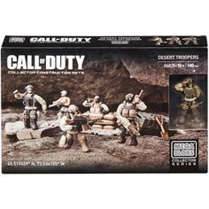 Mega Bloks Call of Duty Desert Troopers Building Set