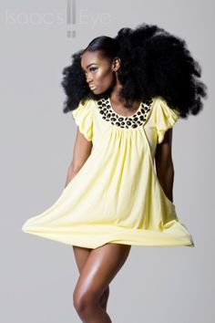 Natural hair and the effect on you're fashion style.