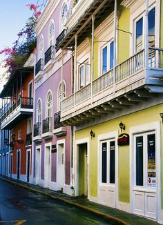 No trip to Puerto Rico would be complete without a visit to old San Juan!  Did you know the old street is paved with old cobble stones brought in from trade ships from over 400 years ago!  So romantic!   Will you join us for a traditional meal served at one of the many out-door cafe's?