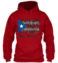 PUERTO RICAN AND PROUD | Teespring