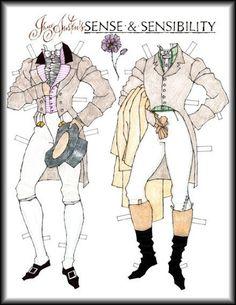 Edward Ferrars' wardrobe - Sense & Sensibility - Donald Hendricks
