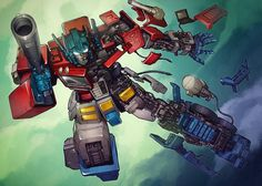 Transformers News: Naoto Tsushima Metallic Art Prints for Sale Transformers Collection, Transformers Optimus Prime, Los Autobots, Nemesis Prime, Art Prints For Sale, Gundam, Geek, Animation Reference, Backgrounds
