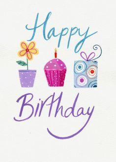 Imagen de birthday card and happy birthday