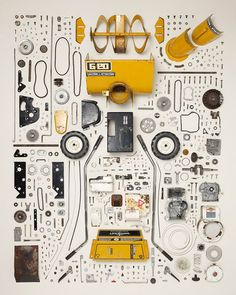 1: Smartphone, 2007 | A Photographer Finds Order And Chaos In Disassembled Gadgets | Co.Design: business + innovation + design