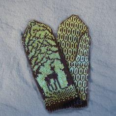 Ravelry: Silver Doe mittens pattern by Maria Lärkäng