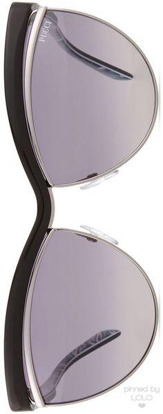 Emilio Pucci Flared-Brow Cat-Eye Sunglasses | LOLO❤︎