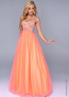 Nina Canacci 8003 Strapless Ball Gown