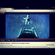 #LiveJump   #Seriously one of the most... http://babycoupon.biz/halloween/ Felix Baumgartner Freefall from space Record Broken
