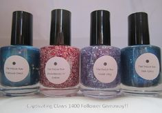 Captivating Claws: 1400 Follower Giveaway sponsored by The Polish Bar!!