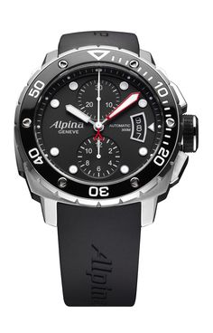 Alpina: Extreme Diver 300 Automatic Chronograph