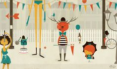 Playful Illustrations by Andrew Bannecker